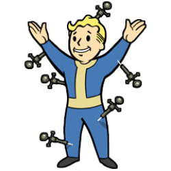 Fallout clipart transparent
