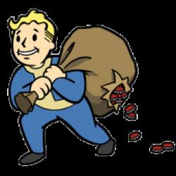 Fallout clipart valt
