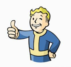 Fallout clipart valut