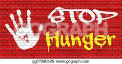 Famine clipart bad food