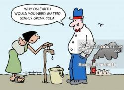 Famine clipart global
