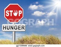 Famine clipart hunger