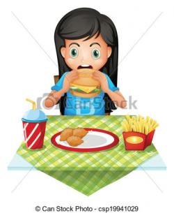 Famine clipart hungry boy