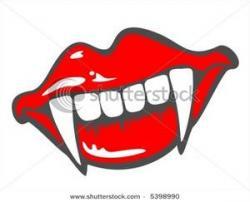 Vampire clipart vampire tooth