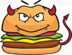 Burger clipart emoji