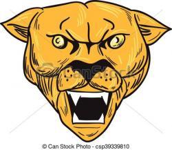 Fangs clipart lion
