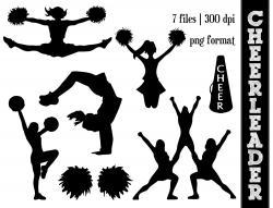 Stunt clipart silhouette