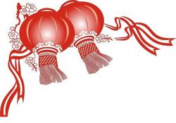 Fans clipart chinese lantern