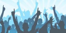Fans clipart concert
