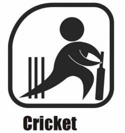 Fans clipart cricket team