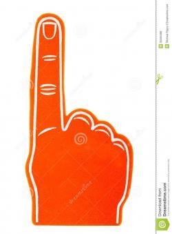 Fans clipart finger