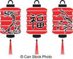 Fans clipart japanese lantern