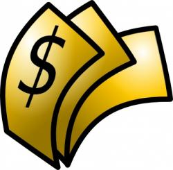 Fans clipart money
