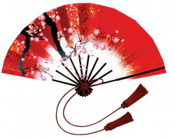 Fan clipart chinese new year decoration