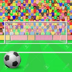 Stands clipart sport crowd