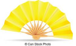 Fans clipart yellow