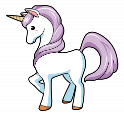 Small clipart unicorn