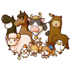Moving clipart farm animal