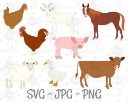 Cow clipart sheep goat