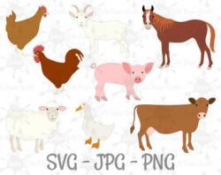 Cattle clipart barn animal