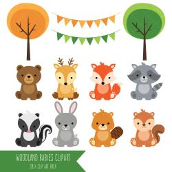 Animl clipart forest animal