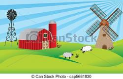 Rural clipart barn