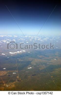 Farmland clipart horizon