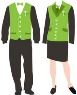Uniform clipart office uniform