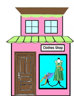 Clothing Store Clipart