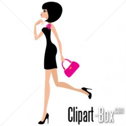 Classy clipart fashion lady