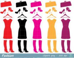 Pink Dress clipart shirt pants