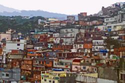 Favela clipart city scape