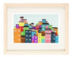 Favela clipart downtown