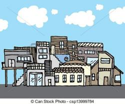 Favela clipart housing community