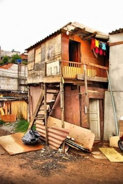 Favela clipart many house