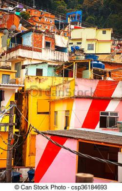 Favela clipart residential