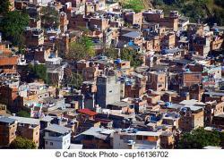 Favela clipart urban area