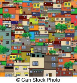 Favela clipart vertical