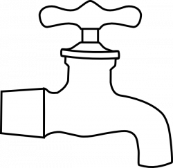 Fawcet clipart water spout