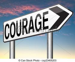 Fear clipart courageous