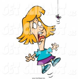 Screaming clipart scared