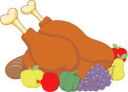 Cornucopia clipart thanksgiving feast