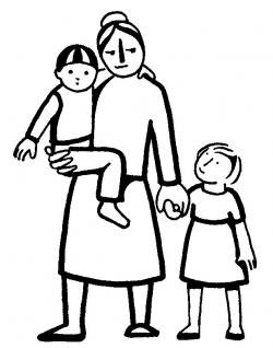Christ clipart rich family