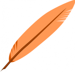 Quill clipart bird feather