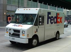 Fed Ex clipart big truck