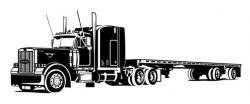 Truck clipart 18 wheeler
