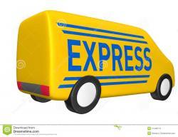 Vans clipart delivery van