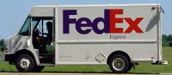 Fedex clipart trucker