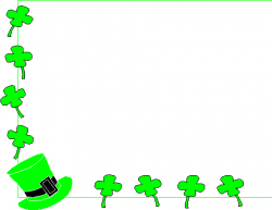 St. Patrick's Day clipart St Patrick's Day Border Clipart