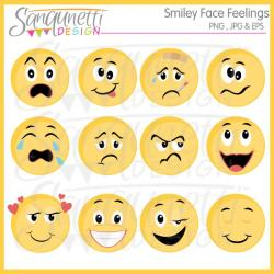 Feelings clipart different feeling